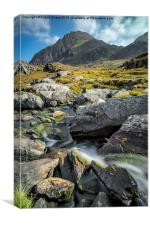 Clouds Over Tryfan, Canvas Print