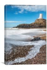Twr Mawr Anglesey, Canvas Print