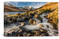 Glyder Fawr Mountains, Canvas Print