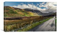 Welsh Valley, Canvas Print