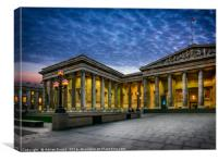 The British Museum, Canvas Print