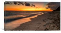Sunset Boracay Philippines, Canvas Print
