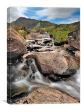 Spring Rapids, Canvas Print