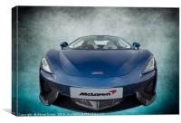 McLaren Sports Car, Canvas Print