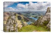 Lakes of Snowdonia, Canvas Print