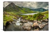 Tryfan In The Ogwen Valley, Canvas Print