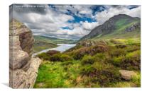 Tryfan And Ogwen Lake, Canvas Print