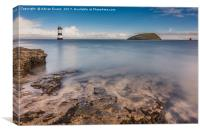 Puffin Island Lighthouse , Canvas Print