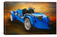 MG Sports Car, Canvas Print