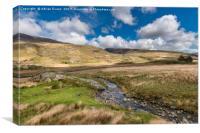 Beautiful Welsh Landscape, Canvas Print