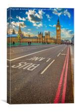 Big Ben Westminster, Canvas Print