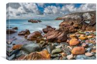 Rhoscolyn Coastline Anglesey, Canvas Print