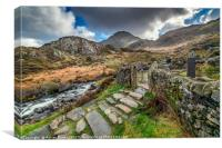 Gate to Snowdonia, Canvas Print