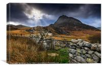 East Face Tryfan Snowdonia, Canvas Print