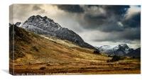 Mighty Tryfan Mountain, Canvas Print