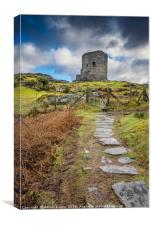Dolbadarn Castle Snowdonia, Canvas Print