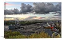 Brancaster Staithe harbour    , Canvas Print