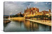 Palma Cathedral, Canvas Print