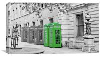 Covent Garden Boxes, Canvas Print