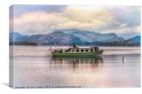 Ullswater Ferry, Canvas Print