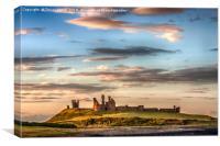 Dunstanburgh Castle - 02, Canvas Print