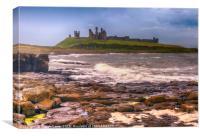 Dunstanburgh Castle - 04, Canvas Print
