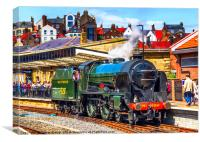 Repton at Whitby, Canvas Print