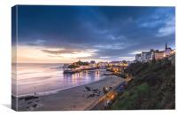 Tenby Harbour Sunrise, Canvas Print