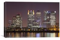 Canary Wharf towers, Canvas Print