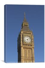 Big Ben, London, England, Canvas Print