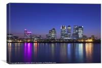 Canary Wharf, Canvas Print