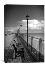Skegness Pier, Canvas Print