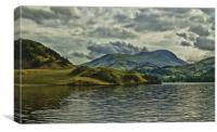 Ullswater, Canvas Print