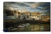Falmouth harbour, Canvas Print