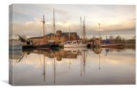 Gloucester Docks, Canvas Print