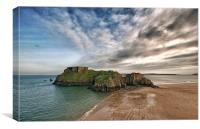 St Catherines Tenby, Canvas Print