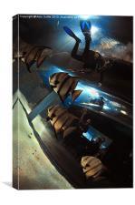 Aquarium, Canvas Print