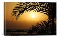 Egyptian Sunrise, Canvas Print