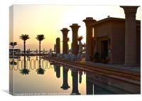 Egyptian Sunrise 2, Canvas Print