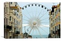 Brighton Wheel, Canvas Print