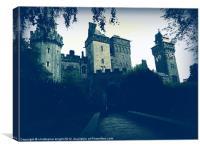 The Haunted Castle, Canvas Print