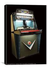 Rock-Ola 1468 Tempo 1 Jukebox - 1959, Canvas Print