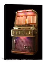 BAL-AMi I200M Jukebox - 1958, Canvas Print