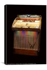 Wurlitzer 2300 Jukebox - 1959, Canvas Print