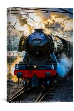Return of the Flying Scotsman , Canvas Print