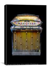 Wurlitzer jukebox, model 2500, made in 1961, Canvas Print