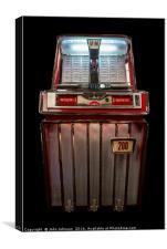 BAL-AMi Model J Jukebox - 1959, Canvas Print