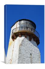 Southerness Lighthouse, Canvas Print