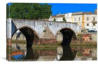 Ponte Romana, Silves, Canvas Print