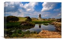 Smailholm Tower, Scotland, Canvas Print
